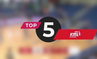 TOP 5 | Olybet liiga play-off'ide nädala ilunumbrid: üks sooritus uhkem kui teine