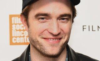 """Tõus karjääriredelil! """"Videvikust"""" tuntud staar Robert Pattinson kehastub koomiksikangelaseks"""