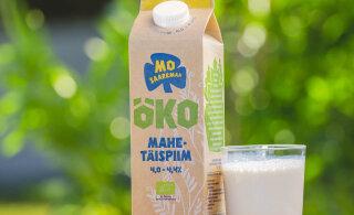 Saarema Piimatööstuse mahepiim kannab uut nime ja pakendit: müügile on jõudnud MO Saaremaa mahetäispiim