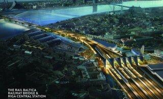 Algab Rail Balticu Riia jaama ehitus