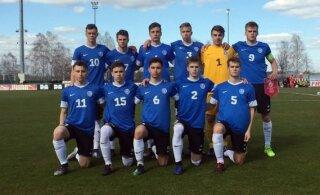 U19 jalgpallikoondis alistas maavõistluses Šveitsi