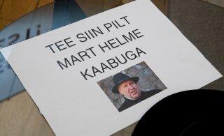 ФОТО: На дне открытых дверей в Рийгикогу можно было примерить знаменитую шляпу Марта Хельме