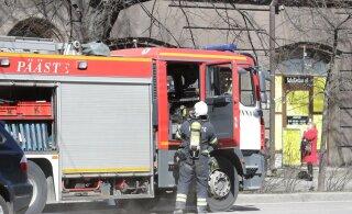 В Нарве в пожаре погиб мужчина