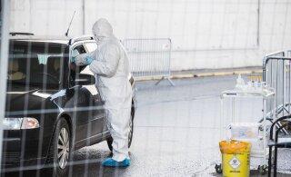 Пробы на коронавирус из Финляндии проверяются в эстонской лаборатории