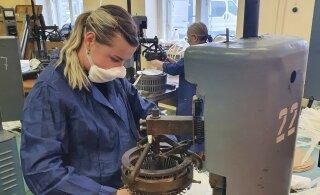 Riigi tellimus suurendas Ida-Viru ettevõtte töötajate arvu 150 võrra