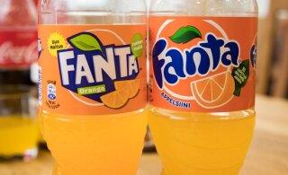 Coca-Cola tegi Fanta retseptis olulise muudatuse