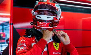 Veel üks tagasilöök Ferrarile: Charles Leclerc sai karistada