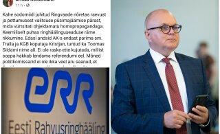 """EKRE volikogu esimees nimetas """"Ringvaate"""" saatejuhte sodomiitideks. ERR teeb ettepaneku Reitelmann nõukogust tagasi kutsuda"""