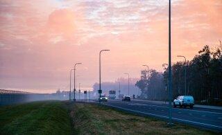 Eesti kohal on suitsuvine, mille põhjus pole teada