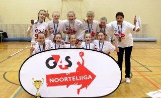 VIDEO | Audentese SK/Siili võitis kindlalt tütarlaste U14 vanuseklassi meistritiitli