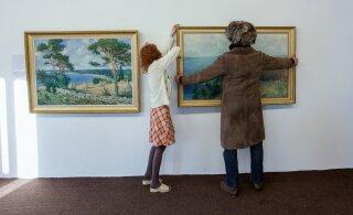 В Финляндии открылась выставка эстонца, который писал картины после паралича, репрессий и ссылки