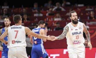 Serbia lõpetas pettumuse valmistanud MMi viienda kohaga