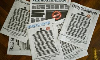 Ведущие газеты Австралии вышли с передовицами в защиту прессы