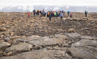 ФОТО | В Исландии проводили в последний путь ледник, ему было 700 лет