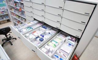 В следующем году 330 аптекам Эстонии угрожает закрытие