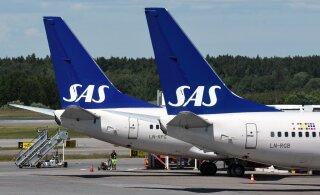 Самолет SAS приземлился в аэропорту Осло через 1 минуту после введения карантина