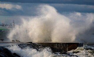 Ööl vastu neljapäeva tuleb kõva torm: kuni 30 meetrit sekundis. Järgneb järsk ilmamuudatus