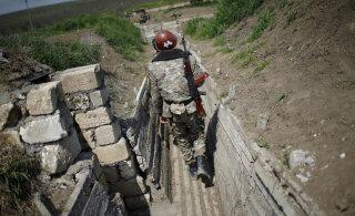 На границе Азербайджана и Армении произошло вооруженное столкновение