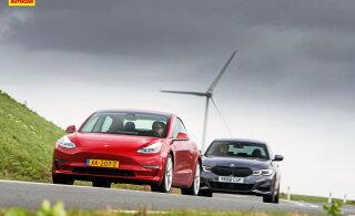 Kas Tesla Model 3 oleks parem ost kui uhiuus BMW 3. seeria?
