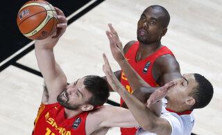 Hispaania peatreeneril on omapärane mure: koondislased on liiga tugevates NBA klubides