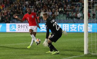 Jalgpalli valikmängud: Inglismaa purustas võõrsil Bulgaaria 6:0, Portugali võitnud Ukraina teenis EM-pääsme