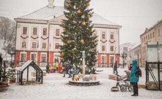 Lootus valgeteks jõuludeks: 24. detsembril võib maa lumega kattuda