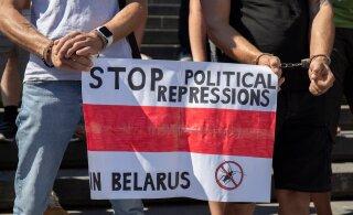 Homme avaldatakse Vabaduse väljakul toetust autoritarismi vastu võitlevate valgevenelaste heaks