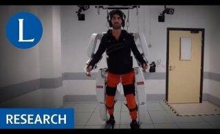 VIDEO   Läbimurre: ajusignaale tõlgendav eksoskelett võimaldab halvatud mehel kõndida