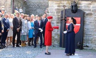 ФОТО: Королева Дании открыла выставку и Сад датской королевы