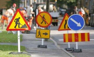 Liikluse ajutine ümberkorraldamine nõuab kümnete spetsialistide pühendunud tööd