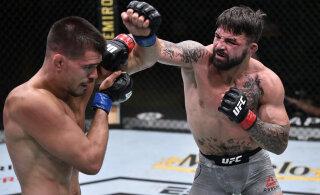 VIDEO | UFC vabavõitleja ründas baaris vanemat meest