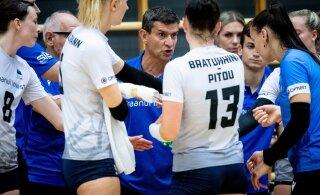 FOTOD | Eesti võrkpallikoondis võitis Lätit taas kuivalt
