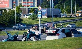 Laagna tee surmakutsariga võidu kihutanud Chevrolet' juht võeti vahi alla