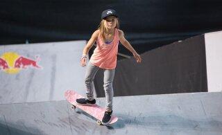 ВИДЕО: Выступавшая в Таллинне 11-летняя спортсменка чудом осталась жива