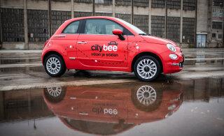 В прошлом году на транспортных средствах CityBee было совершено свыше 126 000 поездок