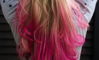 FOTOD | Ettevaatust vannis mõnulejad! Ühe naise värskelt blondeeritud juuksed muutusid peale Lushi vannipommi kasutamist roosaks