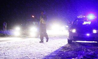 Veok sattus Tallinna ringteel raskesse õnnetusse, ent selle juht pages