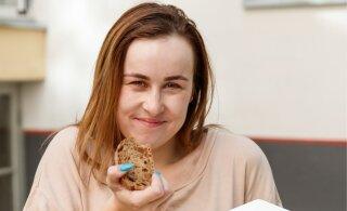 Kristel Aaslaid endistest toitumisharjumustest: sõin ühe suhkruvati, seejärel ühe pooliku ja siis ostsin endale veel ühe suhkruvati