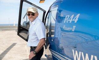 Aeg investeerida, aeg lennata | Loe, kuidas Raivo Hein sai eriloa kopterisõiduks Saaremaale!