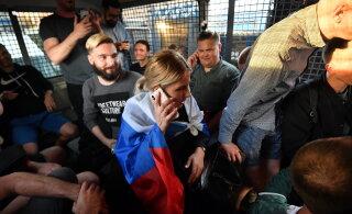 В Москве задержали сторонницу Навального Любовь Соболь