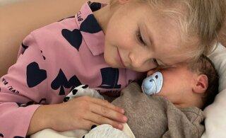 ВИДЕО | Мимимишность зашкаливает! Дочка Тимати познакомилась с братиком