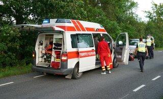 ФОТО | Нетрезвый водитель мотороллера устроил аварию