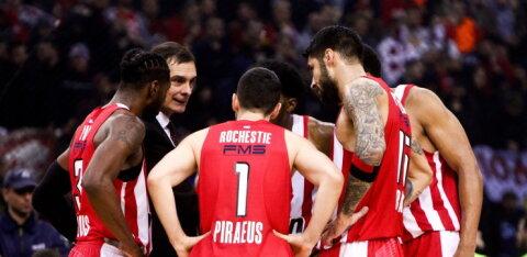 BLOGI | Korvpalli Euroliigas algab uus hooaeg: Olympiakos võtab vastu Žalgirise, Barcelona võõrustab CSKA-d