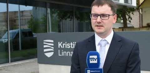 ВИДЕО: В Кристийне состоялась праздничная церемония поднятия флага Эстонии
