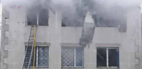 При пожаре в доме престарелых в Харькове погибли 15 человек