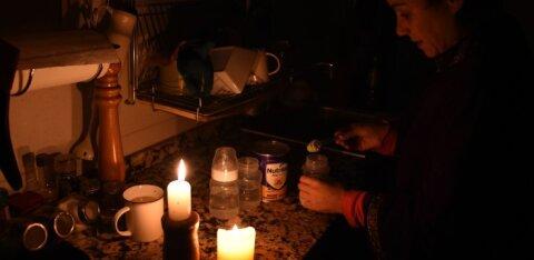 ФОТО и ВИДЕО | Аргентина и Уругвай остались без электроэнергии