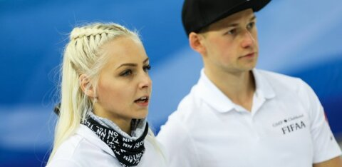 Эстонские керлингисты пробились в 1/8 финала чемпионата мира