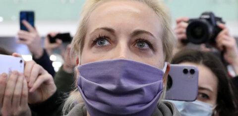 """""""Алексей сегодня сказал, что не боится. И я тоже не боюсь"""". Юлия Навальная прокомментировала задержание мужа"""