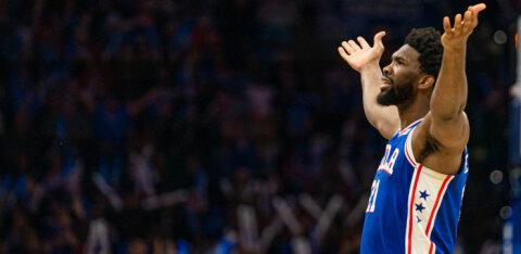 VIDEO | New York Knicksi nukker seeria sai jätku, Philadelphia jätkab kodus võitmatuna