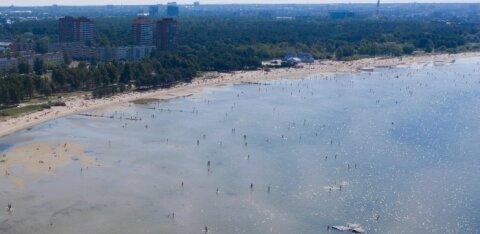 Старейшина: качество воды на пляже Штромки хорошее